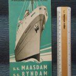 HAL: Maasdam and Ryndam Interior Foldout