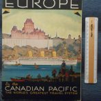 Canadian Pacific: The Shortest Way to Europe Fleet brochure