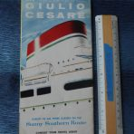 Italian Line: Giulio Cesare Interiors foldout 1958