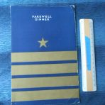United States Lines: SS Republic Farewell Dinner Menu July 10th 1931