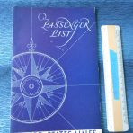 United States Lines: SS President Roosevelt Passenger List and Concert Invite 1930