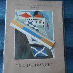 French Line: Ultimate 1950's Ile De France PW Brochure