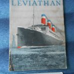 United States Lines: SS Leviathan Builders Book – Brochure