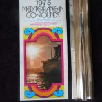 Italian Line: 1975 Mediterranean Go Rounds Fold Out