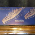 American Export : SS Independence and Constitution Deckplan Booklet