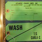 Costa Cruise Lines: Carla C Baggage tag