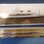 Italian Line: Conte Di Savoia Large Photo Postcard