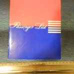 United States Line: American CC Passenger list July 1956