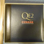 Cunard: QE2 Leather Photo-Frame Album