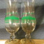 Eastern Steamship: SS Emerald Seas Hurricane Tropical Drink Glasses