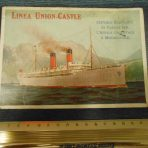 Union Castle: Older Early Advertising card.