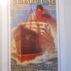 Cunard Line: Carmania /Caronia Mini Reproduction Poster