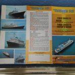 Monarch Cruise Lines: Monarch Sun 1975 Deck Plan Brochure