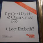 Cunard Line: QE2 Shore Excursion Manual for the 1978 Great Pacific Cruise via Thomas Cook.