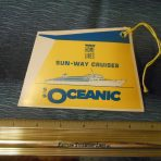 Home Lines: Oceanic Sun Way Cruise Baggage Tag