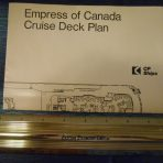 Canadian Pacific: Empress of Canada Glossy Cruise Plan