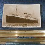 White Star Line: Britannic Portrait Post card