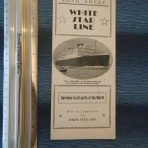WSL : Song Sheet MV Britannic on the cover