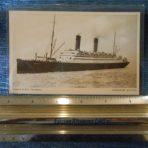 Cunard: Carmania Post card