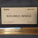 Italian Lines: Michelangelo and Rafaello Green Deck plans March 1966