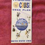 United States Lines: SSUS Congo Drum Cruise Deck Plan