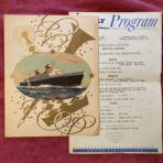 United States Lines: SS US Gala Menu and Daily program 9/26/66