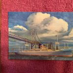 APL: President Polk/ Monroe postcard 1962
