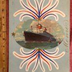United States Lines: SS America Gala Menu 7/12/1952 John Anderson Captain