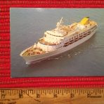 Ocean Cruise Lines: Ocean Princess Postcard: