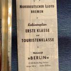 NGL: Berlin Tissue Deck Plan 1960 in German