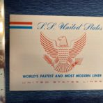 United States Lines: SSUS Mini Beal Booklet