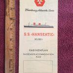 Hamburg Atlantik Line: SS Hanseatic Yellow Deck Plan
