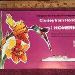 "Home Lines"" Homeric Brochure Winter 72-73"