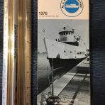Maryland Port Administration: MV Port Welcome 1976 Flyer