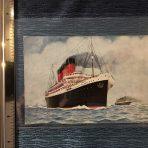 French Line: One SS Paris Postcard