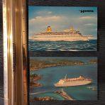 Home Lines: 2 Postcards Atlantic, Homeric