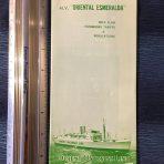 Orient Overseas Line: Oriental Esmeralda Green Deck plan
