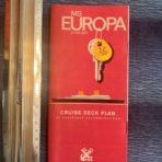 NGL: MS Europa Red Cruise Deck Plan