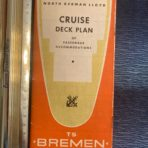 NGL: TS Bremen Orange Cruise Plan