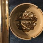 Cunard Line: Queen Mary /Spruce Goose Long Beach Ashtray