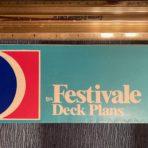 Carnival Cruises: Festivale Deck Plans