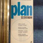 Holland America Line: SS Statendam First Class Plan.