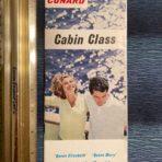 Cunard Line: Cabin Class Interiors Booklet