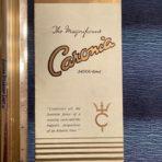 Cunard Line: Caronia Interiors fold out.