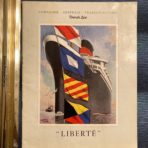 French Line: SS Liberte Intro to Service Brochure