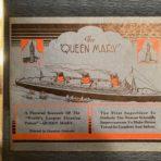 Cunard: QM Pictorial Souvenir Booklet
