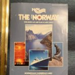 """NCL: SS Norway """"Fjord , North Cape and Trans-Atlantic Cruises """" Brochure 7/84-10/84"""