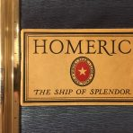 "White Star Line: Homeric: The Ship of Splendor ""Brown"" Brochure."