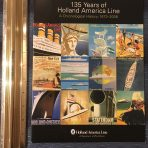 HAL: 135 Years of the Holland America Line Brochure
