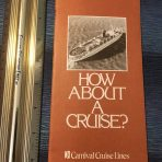 Carnival Cruises: How About A Cruise Booklet